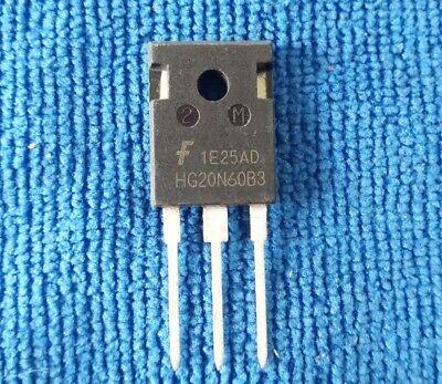 5PCS HG20N60B3 20A 600V MOSFET