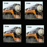 Steam Engine Sp 4449 Coaster Set Of 4