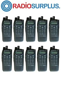 10X MOTOROLA XPR6580 800Mhz  RADIO AND ANTENNA  AAH55UCH9LB1AN