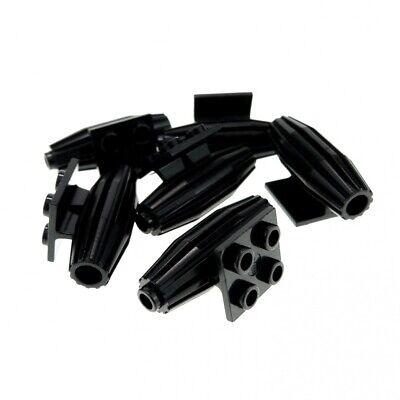 8x Lego Triebwerk schwarz 2x2 Turbine Düse Engine 6980 6950 6780 4229