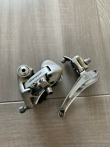 Campagnolo-Mirage-1ere-Gen-Derailleur-Set-2x8-Speed-Good-Condition