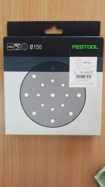 Festool Interface Pad 150 mm PP-STF Klett 2 Stück Protection Pad 203343