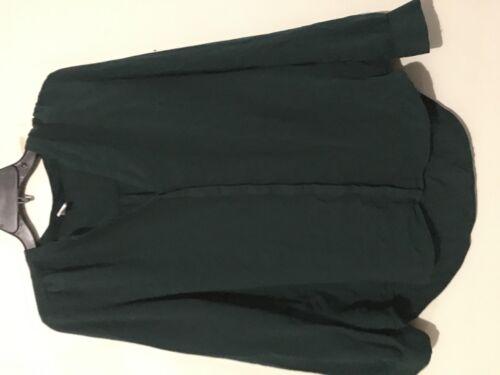 Tunic M Francisco Women Top San Stylish Size Green Navy Blouse Old qAwT7OAU
