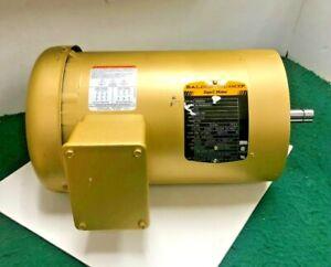 Baldor VEM3554 Electric Motor 3ph 1.5hp 230/460V 1760rpm 60hz 56C 35J302M493G1