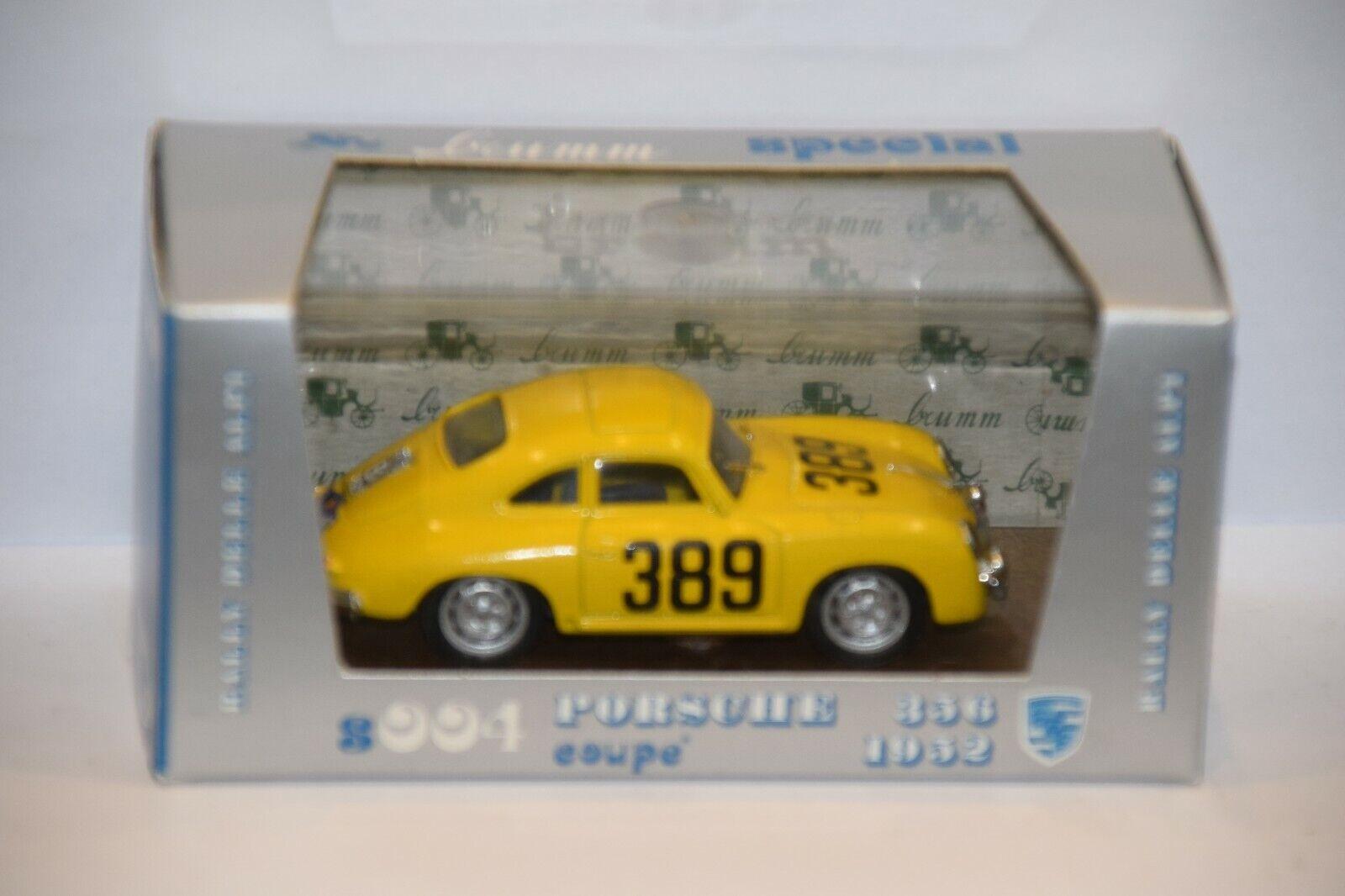 BRUMM -  1 43° -  S004 Porsche 356  - 1952 - série limitée N° 159