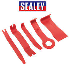 SEALEY 5 Piece Car/Van Bodywork Dash/Boot/Door Card Trim Removal Tool Kit RT/KIT