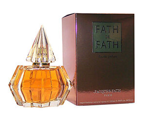 Jacques-Fath-Paris-FATH-DE-FATH-Eau-de-Parfum-Spray-100-ml-EdP-Neuware