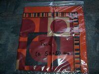 Halstuch, Tuch für Damen, rot/orange, 50 x 50 cm, wie neu