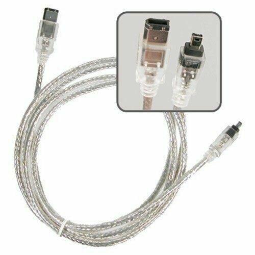 Firewire 6-4 Pin DV Video Cable Cord