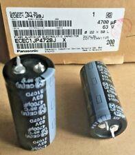 20 Stück Elko Panasonic 4700uF 63V 22x50 RM10 85° Snap-In