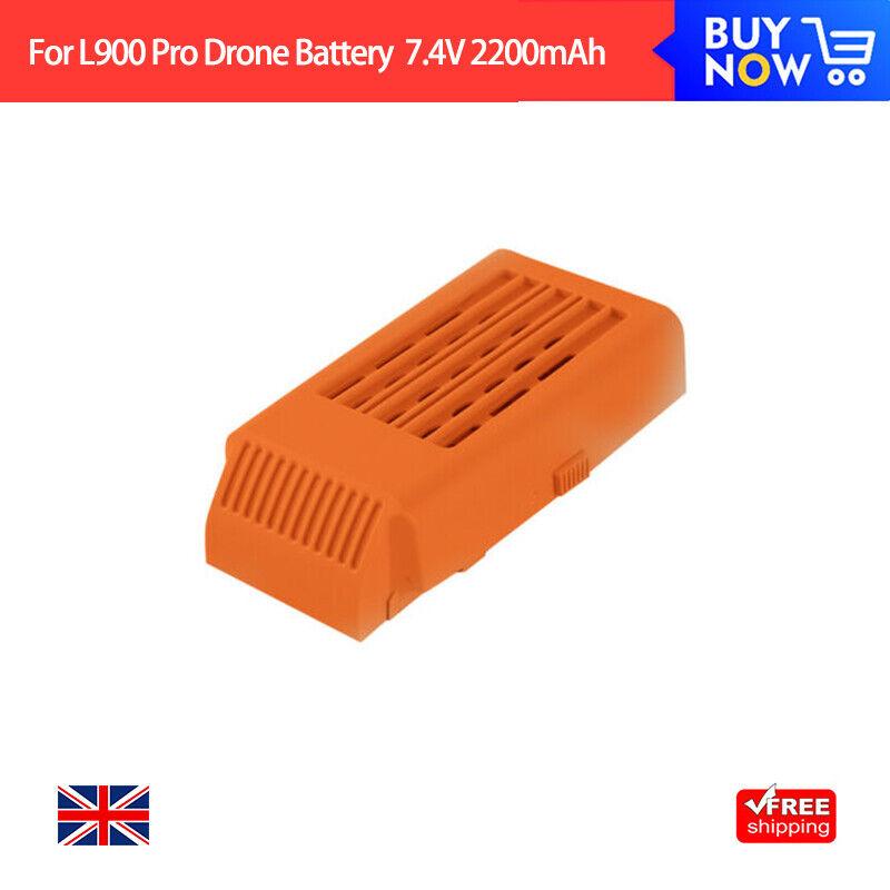 2pcs Original Flight Battery For L900 Pro Orange Drone Batteries 7.4V 2200mAh UK