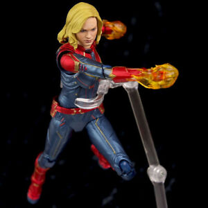 Hot-Avengers-League-Captain-Marvel-Endgame-S-H-Figuarts-Action-Figure-Toy-Boxed