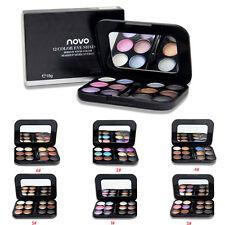 NEW 12 Colour Matte Eye Shadow Palette Bright Neon White Black Baby Pink 6 Sizes