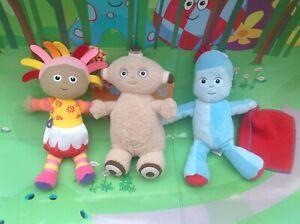 In-The-Night-Garden-Upsy-Daisy-Iggle-Piggle-amp-Makka-Pakka-Beanie-Plush-Soft-Toys