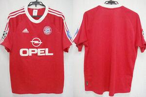 2001 2002 bayern munchen munich jersey shirt trikot uefa. Black Bedroom Furniture Sets. Home Design Ideas