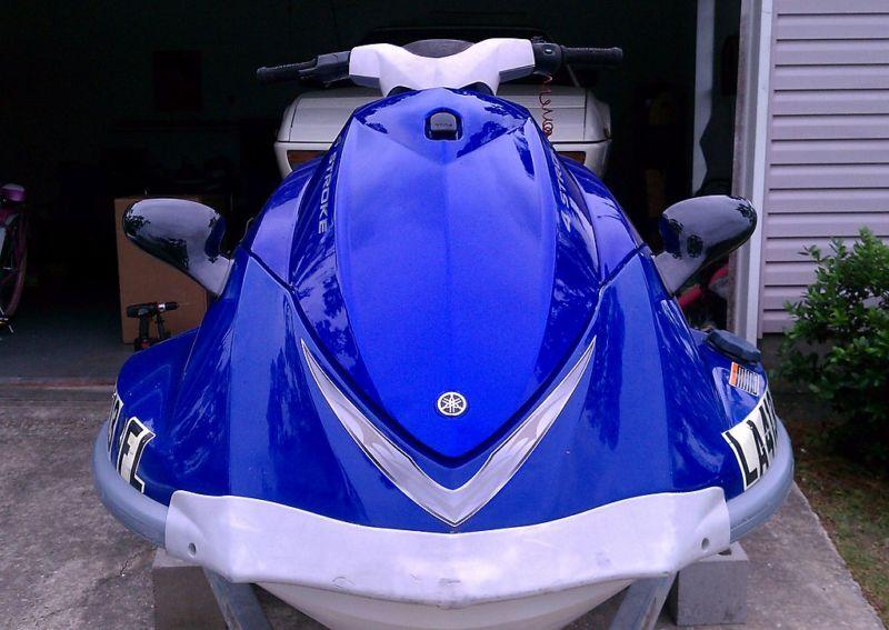 Rh Yamaha Waverunner Spiegel Rechts Neu Gp Vx110 Vx110 Vx110 Deluxe Xl800 Xlt1200  | Elegante Form  64bcbf