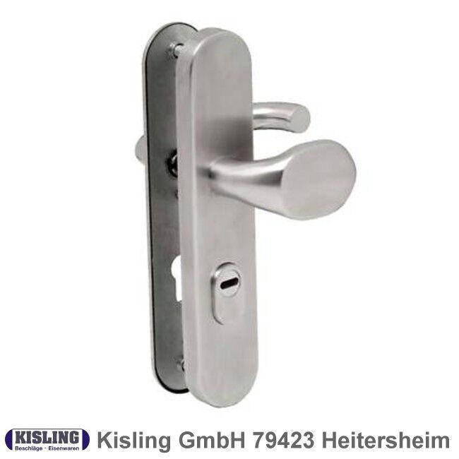 Sicherheitsbeschlag Schutzbeschlag Edelstahl 8 72 PZ ZA für Wohnungstüre Wechsel | Economy  | Auf Verkauf  | Hochwertige Produkte  | New Product 2019