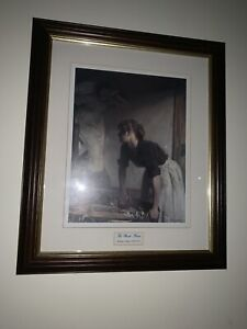 Beautifully-Framed-And-Matted-The-Wash-House-William-Orpen-Print-14-x17