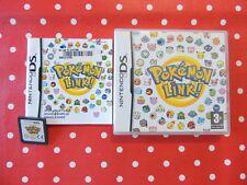 POKEMON LINK! Nintendo DS Lite XL 3ds in scatola originale con istruzioni