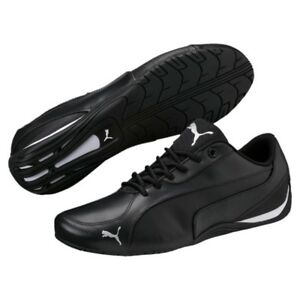 Puma Drift Cat 5 Core Men s Shoes Sneakers Leather Black 362416 01 ... ea47da693