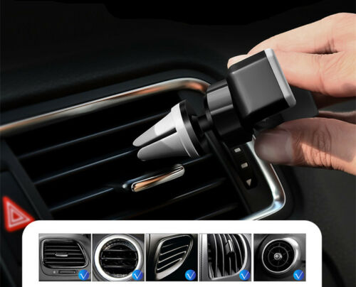 Car Air Vent//outlet Mounted Holder Cradle Stand Bracket For Cell Phone