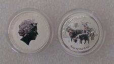 "Australian Lunar II ""Year of the Goat"", 2015, 1/2 Oz Silver coin"