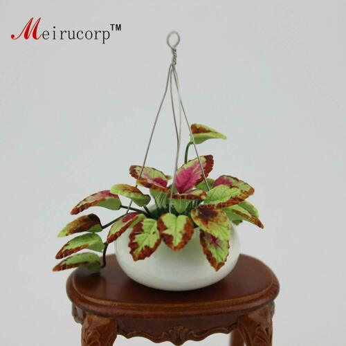Dollhouse 1:12 Scale Miniature decoration Plant Flowerpot model 09968