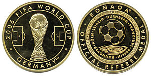 Bonaqa Referee Münze Fifa World Cup 2006 Germany Medal Coin Soccer