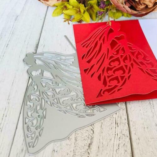 Wedding Bride Metal Cutting Dies Stencil Scrapbooking DIY Album Gift Paper Card