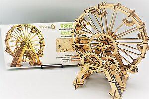 Roue d'observation - Kit de puzzle et modèle en bois 3d Woodtrick 4820195190029