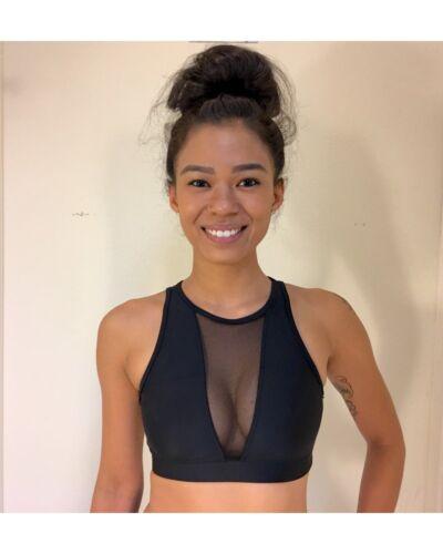 Onzie Hot Yoga Briana Bra 3641 Black//Black