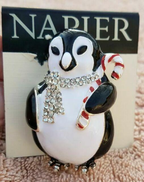 Large Penguin Quality Handmade Pewter Lapel Pin Badge