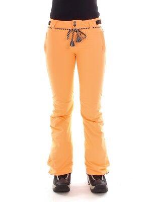 Brunotti Sci Pantaloni Invernali Neve Pantaloni Orange Sunleaf 10k Slim Fit-mostra Il Titolo Originale