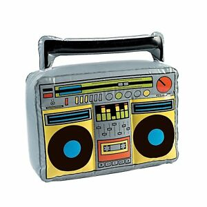 Details about Jumbo Inflatable Boom Box Jam Speakers Novelty Large Costume  Accessory Prop