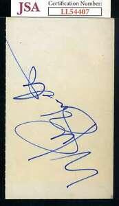 Mike-Schmidt-JSA-Coa-Autograph-Hand-Signed-3x5-Index-Card