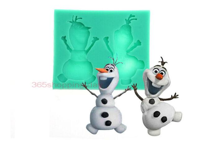 Olaf cooking tools Christmas wedding decoration silicone mold fondant  DIY mold