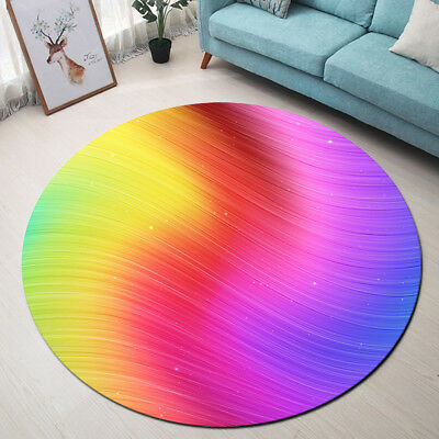 Area Rugs Rainbow Bedroom Floor Mat