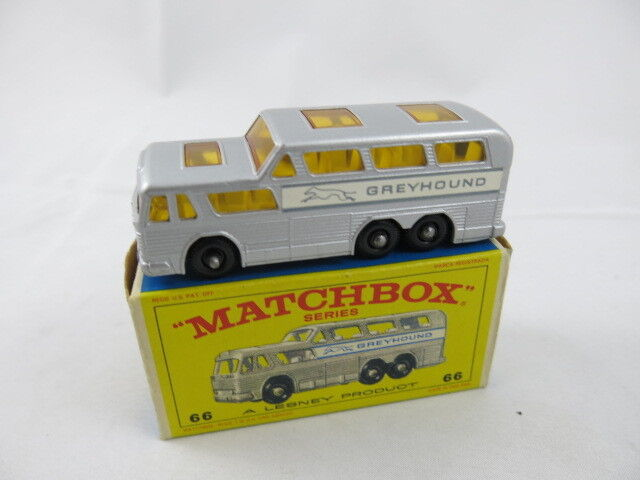 Lesney Matchbox England Greyhound Bus Series E Box