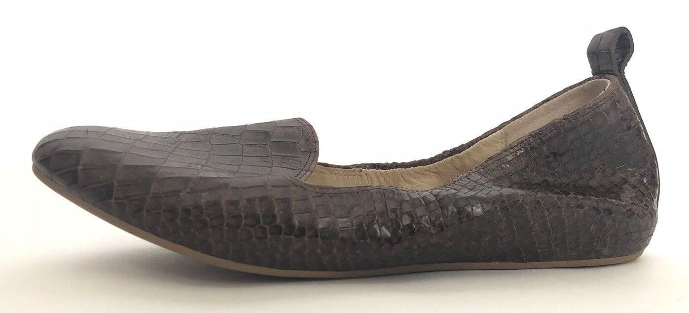 Cole Haan Serpiente mujeres zapatos  B nuevo Serpiente Haan Diseño Pisos fbeeb3
