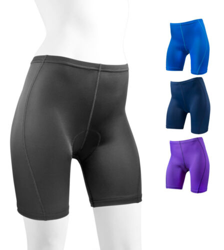 Aero Tech Designs Women/'s Padded Classic Spandex Shorts Cycling Biking  USA Made