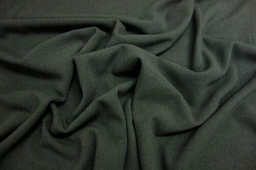 Olive Dressmaking Fabric Polyester Viscose CREPE High Quality Plain Mustard