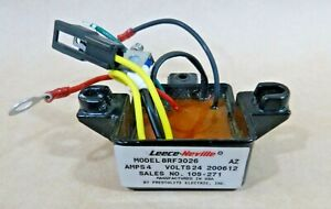 Prestolite Leece-Neville 24V 4 Amp Voltage Regulator 8RF3026, 105-271