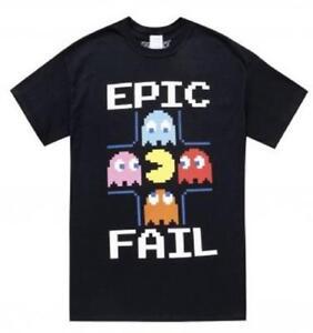 Pacman-taille-L-Epic-Fail-Hommes-Unisexe-T-Shirts