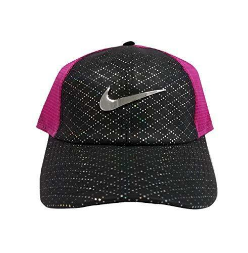 Nike Youth Aerobill Legacy 91 Perforated Mesh Golf Hat Pink black  Aq3028-011  6146468029f