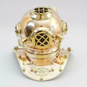 Nautical Antique Mini Deep Sea Divers Helmet Home Decorative Helmet