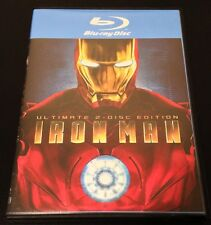 Iron Man (Blu-ray Disc, 2008, 2-Disc Set, Ultimate Edition)
