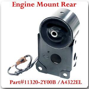 A4322EL ENGINE MOUNT REAR W//WIRES FITS INFINITI I30 2000-2001 I35 2002-2004