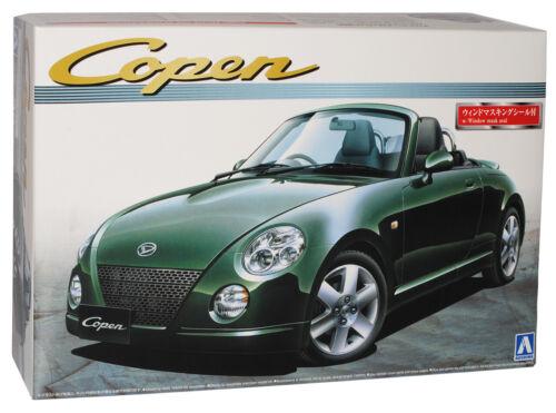 Daihatsu Copen Cabrio Grün 2002-2010 046920 Kit Bausatz 1//24 Aoshima Modell Auto