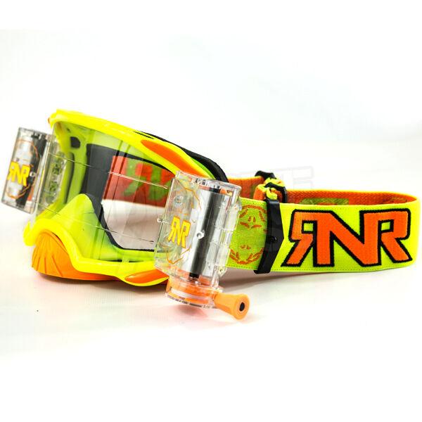 RNR  Rip N Roll Platinum WVS MX Motocross MTB DH FR Enduro Goggles - Clearance  free shipping & exchanges.