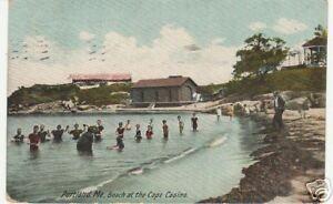 PORTLAND-ME-BEACH-AT-THE-CAPE-CASINO-MAINE-SWIMMERS